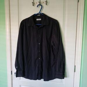 Calvin Klein Men's 100% cotton shirt size L